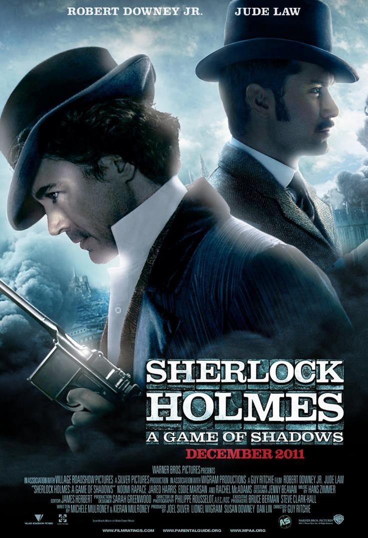 Sherlock Holmes: A Game of Shadows....Love this movie!!!!