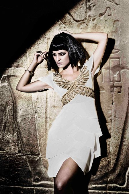 Zaeem Jamal presents stunning Ancient Egyptian collection at Rivaage » La Moda Dubai fashion website