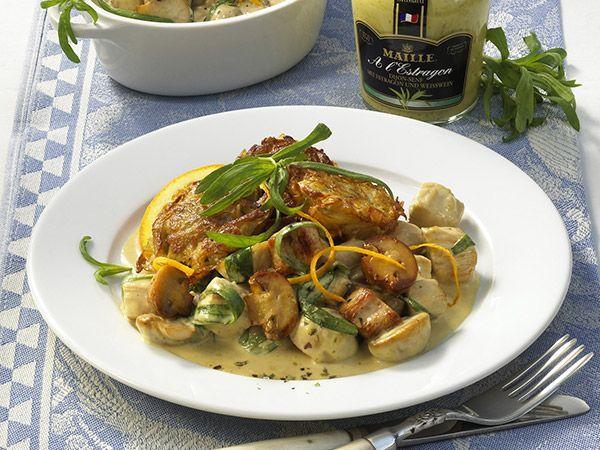 Putenfilet in Estragon-Weinsauce - smarter - Kalorien: 600 Kcal - Zeit: 45 Min.   eatsmarter.de