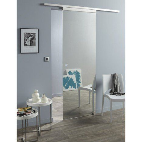 Best 20 porte coulissante miroir ideas on pinterest - Rail de porte coulissante castorama ...