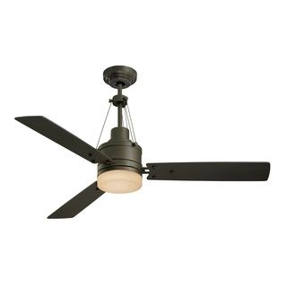 Emerson Highpointe 54 Inch Vintage Steel Modern Ceiling Fan With Reversible  Blades | Overstock.