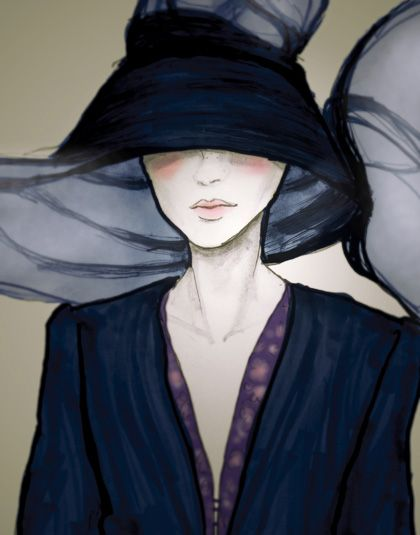 The Style Spotter: danny roberts paris fashion week illustrations #fashion illustration