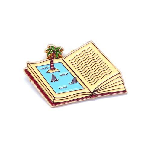'Shark Book' Pin
