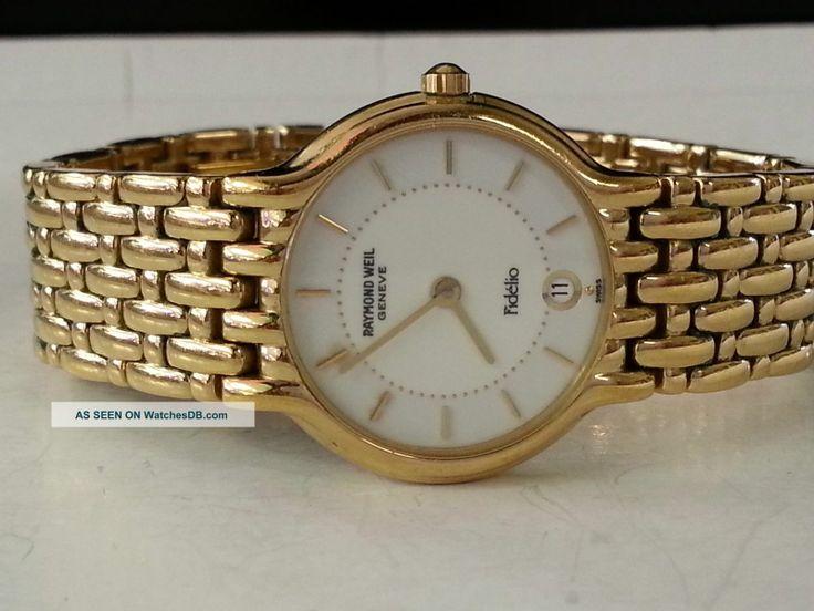 Vintage Raymond Weil Ladies Watches | weil fidelio watch click photo to enlarge brand raymond weil