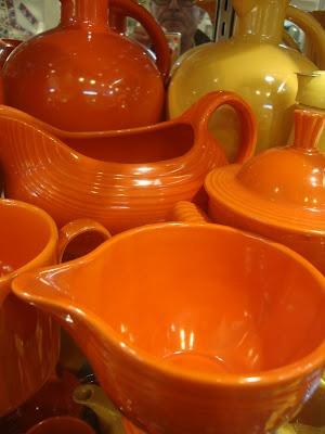 Fiestaware in my favorite color...
