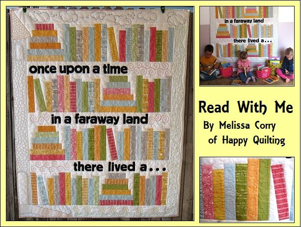 Read With Me Quilt