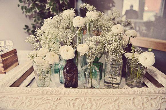 White Wedding Inspiration | Flowers