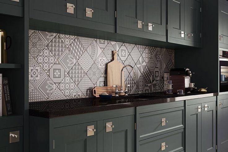 Ted Baker GeoTile Victorian Style Multi Pattern Porcelain Tiles - Indoor/Outdoor in Home, Furniture & DIY, DIY Materials, Flooring & Tiles   eBay