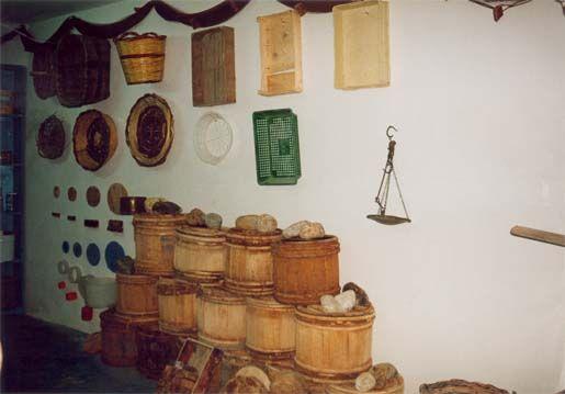Anchovy museum in Aspra, Bagheria at Balistreri Girolamo Company