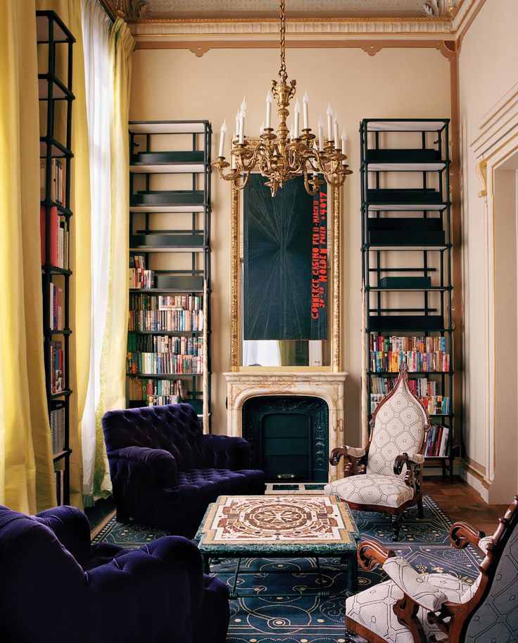 Inside This Mesmerizing Paris Mansion By Ad100 Decorator Jacques Grange In 2021 Maximalist Home Interior Design Trends Interior Design