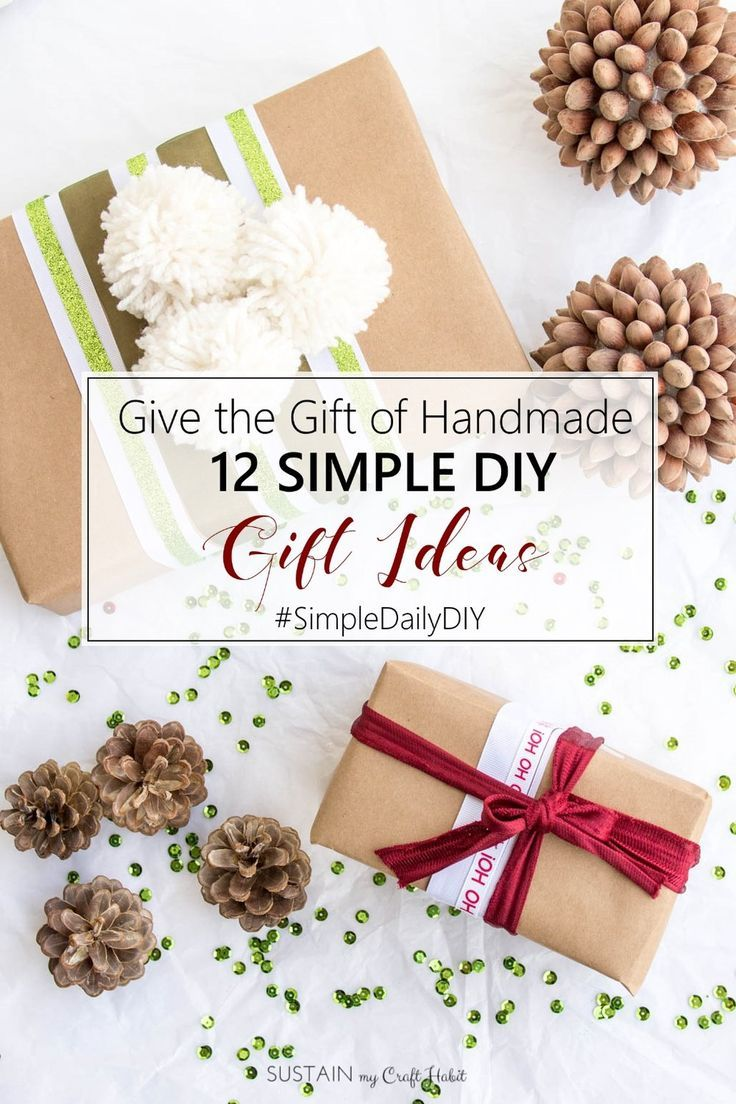 100 best Homemade Gift Ideas images on Pinterest | Homemade gifts ...