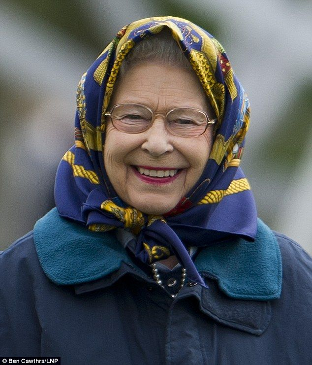HM The Queen at Royal Windsor Horse Show 8th May 2013
