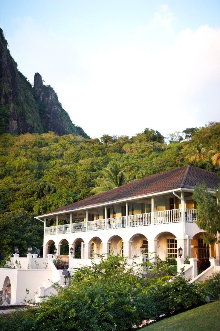 Sugar Beach, a Viceroy Resort - St. Lucia - On St. Lucia's southwest coast, Sugar Beach resort sits between the famed Piton peaks.