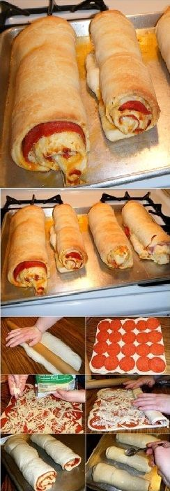 Easy To Make Delicious Pepperoni Rolls – DIY