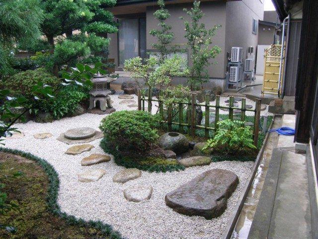 Les 25 meilleures id es de la cat gorie gravier d coratif sur pinterest gravier blanc gravier - Couvre sol jardin japonais ...
