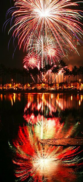 It's not the Fourth of July without fireworks!