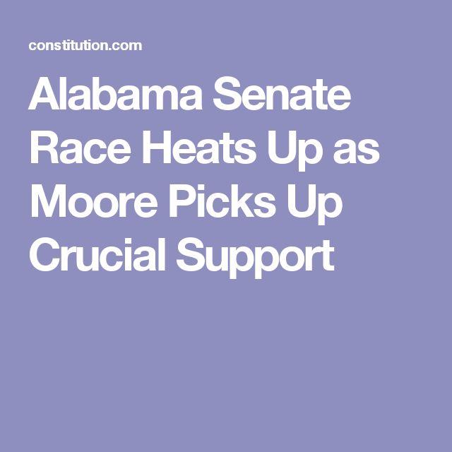 Alabama Senate Race Heats Up as Moore Picks Up Crucial Support