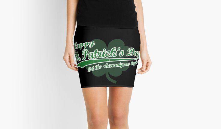 St Patrick's by ngdesign81 #stpatricks #stpatricksday #st #patricks #day #pattys #paddys #shamrock #skirt