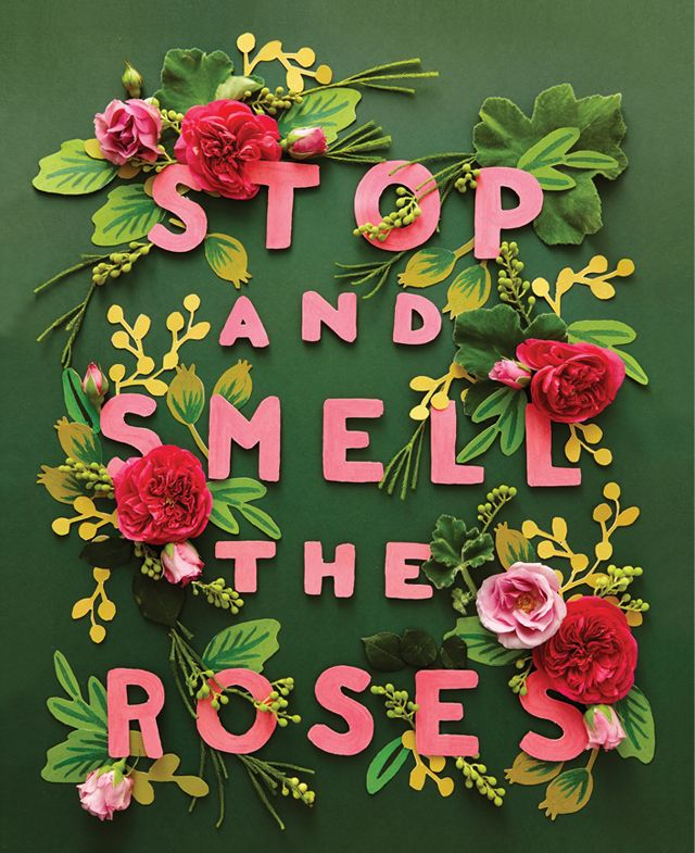 Rifle Paper Co. w/help of Brooklyn-based floral designer Amy Merrick. ~~~ Mindfulness