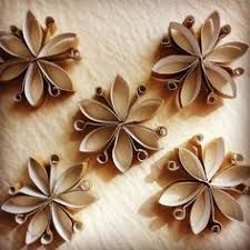 Image result for toilet paper roll snowflake