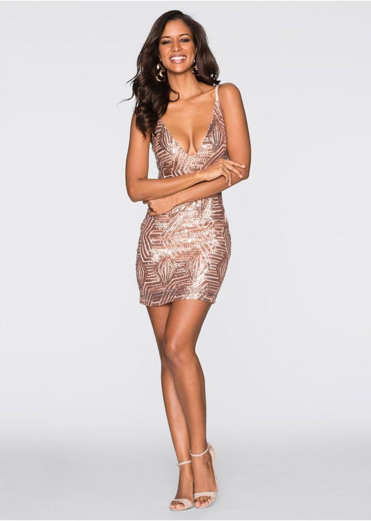 Sukienka z cekinami Piękna sukienka • 189.99 zł • bonprix