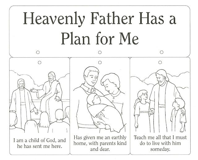 lds plan of salvation coloring page - 50 best images about plan of salvation on pinterest fhe