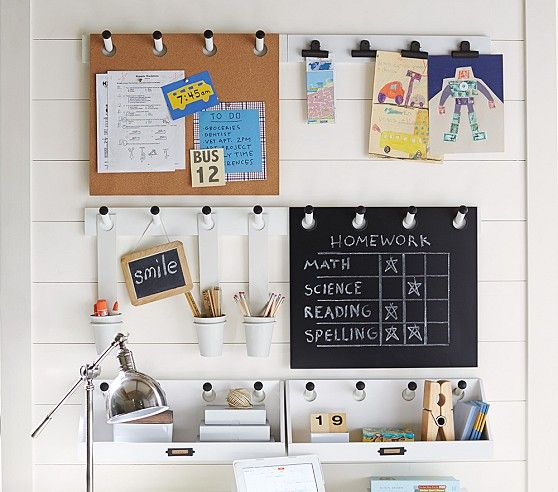 Build Your Own Modern White Gabrielle System | Pottery Barn Kids