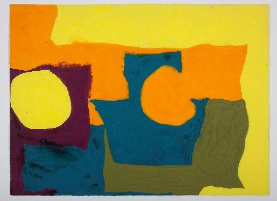 Patrick Heron: Complex Yellows, February 1966