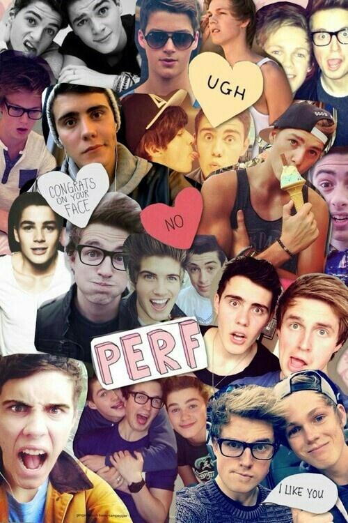 Great youtubers: Alfie, Joey, Caspar, Marcus, Jack, Finn