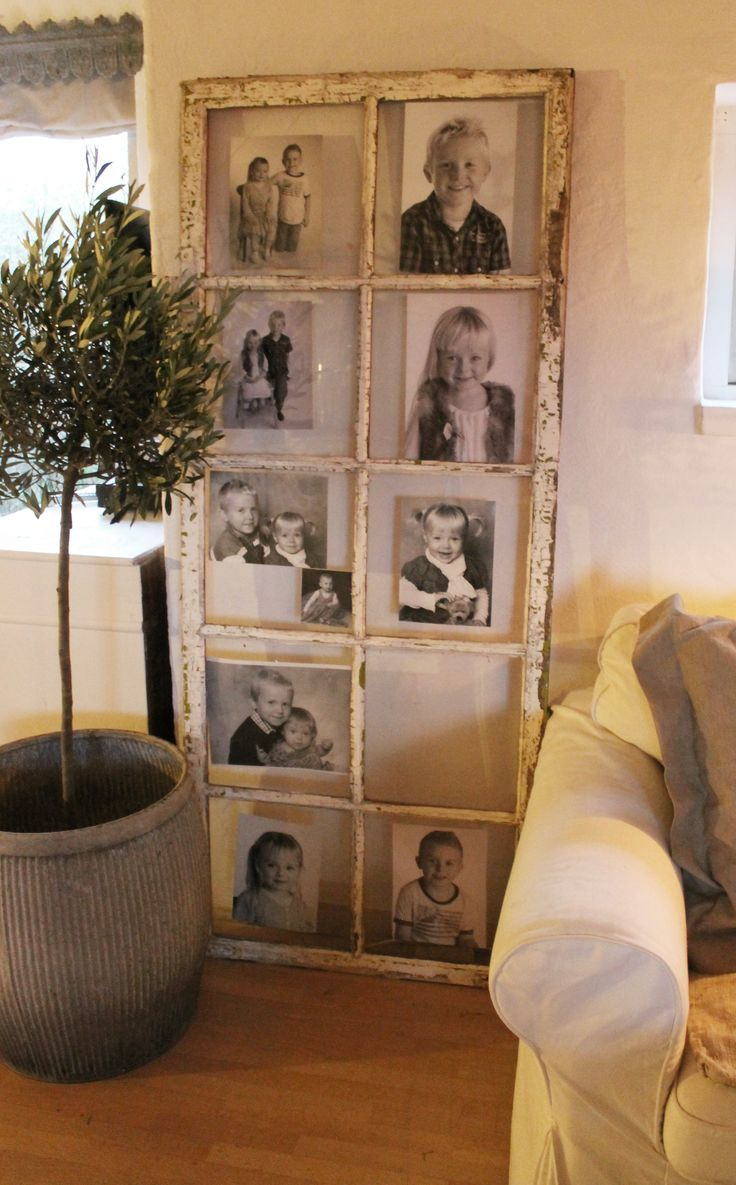 Old window, used a picture frame
