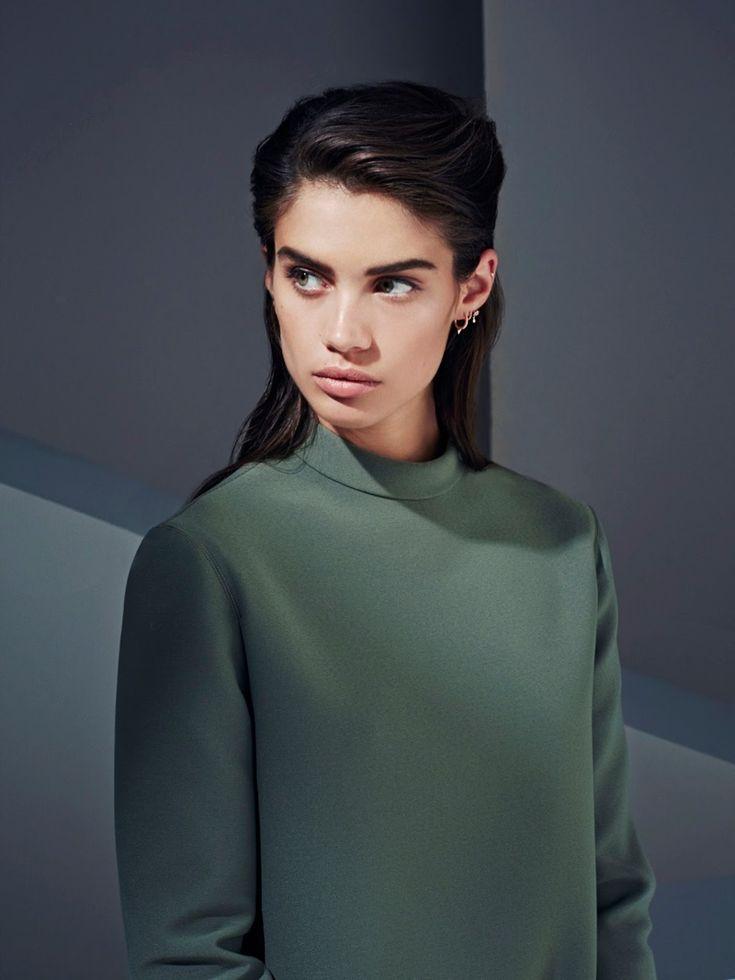 Sara Sampaio on Fashion Magazine Harper's Bazaar Kazakhstan October 2015 Editorial