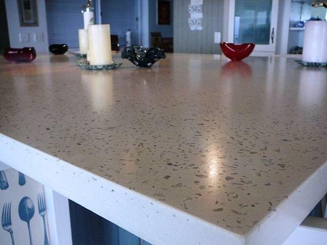 White Concrete Countertop House Ideas Pinterest