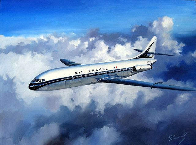 Sud Aviation Caravelle par Lucio Perinotto   kitchener.lord   Flickr