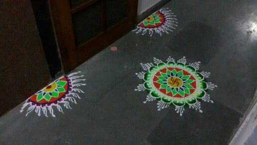 Easy to  make rangolis