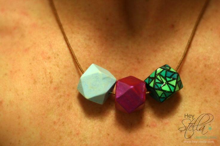 Jam uni wood bead necklace