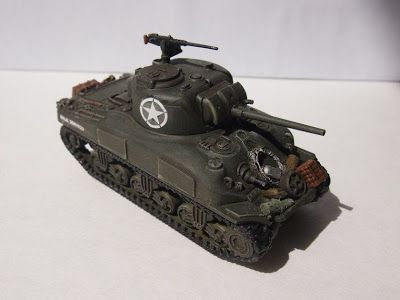 The Troubles of Raising an Army: Plastic Soldier Company M4A1 Sherman (Us Army in North Africa and Italy)