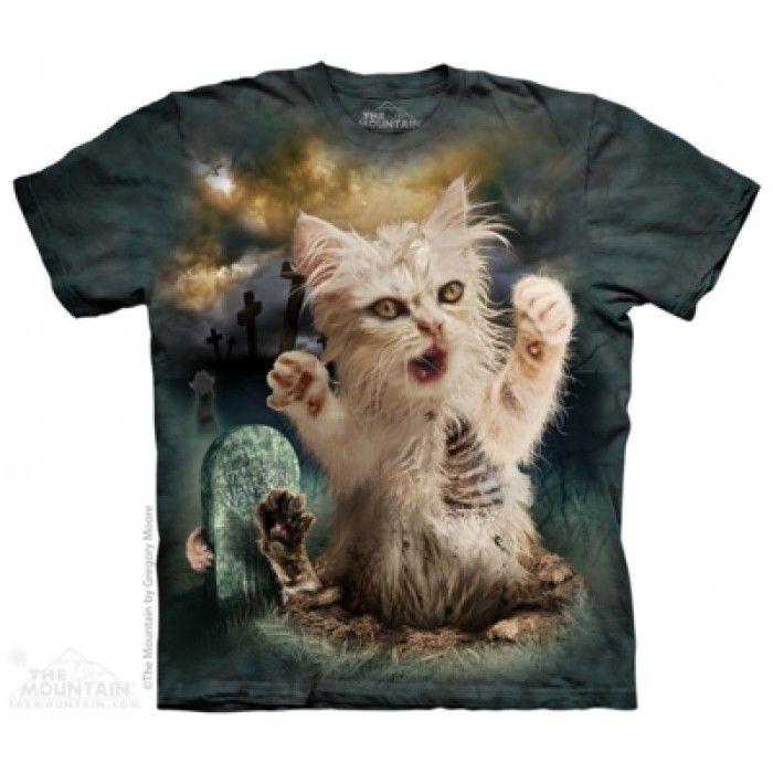 Tricouri The Mountain – Tricou Zombie Cat