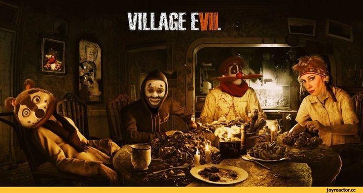Resident Evil 7,Resident Evil,Игры,Деревня Дураков,crossover
