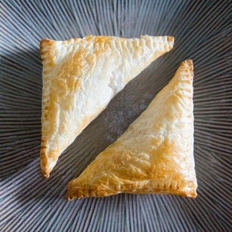 Tuna Puff Pastry Triangles
