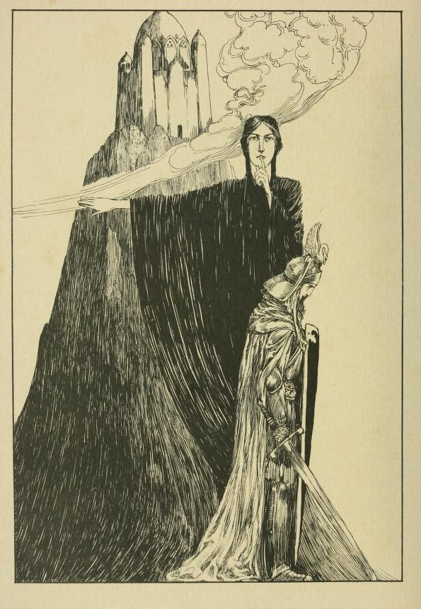 The tale of Lohengrin, knight of the swan after the drama of Richard Wagner by T. W. Rolleston, 1914: