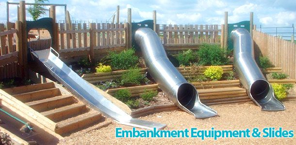 how to make a playground slide