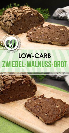 Das Zwiebel-Walnuss-Brot ist eine leckere und deftige low-carb Brot-Alternative. Das Brot ist zu dem auch noch glutenfrei.