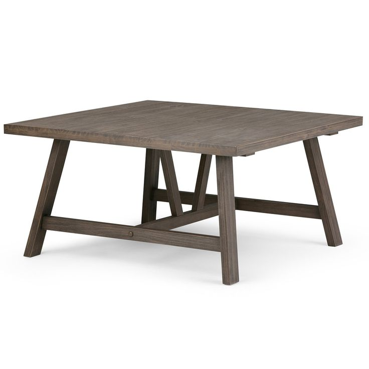 Dylan Square Coffee Table Coffee Table Square Modern Industrial