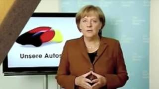What is Merkel trying to tell May as she uses SECRET ILLUMINATI SIGN at key world talks?
