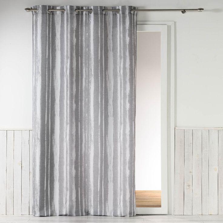 17 meilleures id es propos de rideaux rayures sur. Black Bedroom Furniture Sets. Home Design Ideas