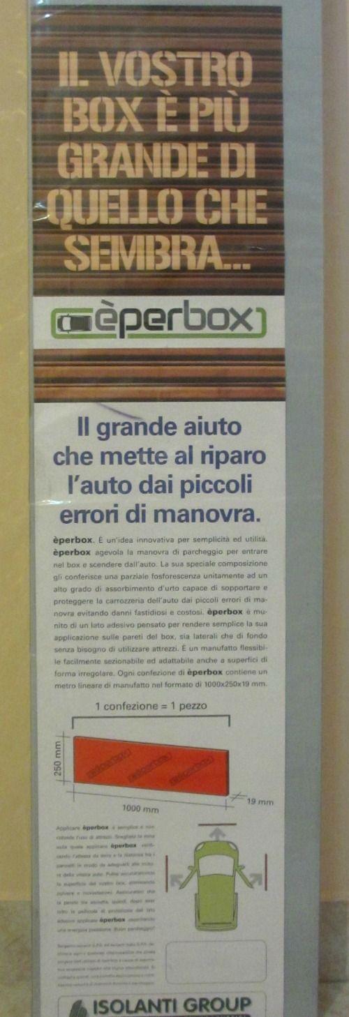 DI TUTTO UN PO': ÉPERBOX: PARACOLPI AUTO CONTRO I GRAFFI    #incuboparcheggio #èperbox
