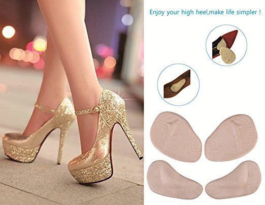 23cf631cbab98 Amazon.com: High Heel Inserts for Women Heels(8PCS),Heel Cushion ...