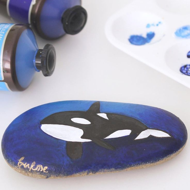 #killerwhale #painting (@bobblegary on Instagram)