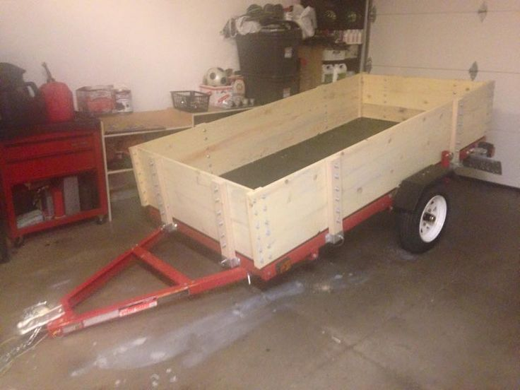 Harbor freight haul master economical off road trailer for Outboard motor dolly harbor freight
