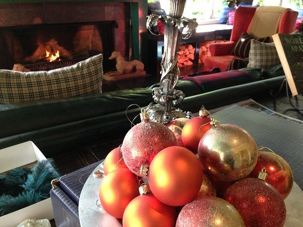 Cosy atmosphere #HukaLodge #Christmas